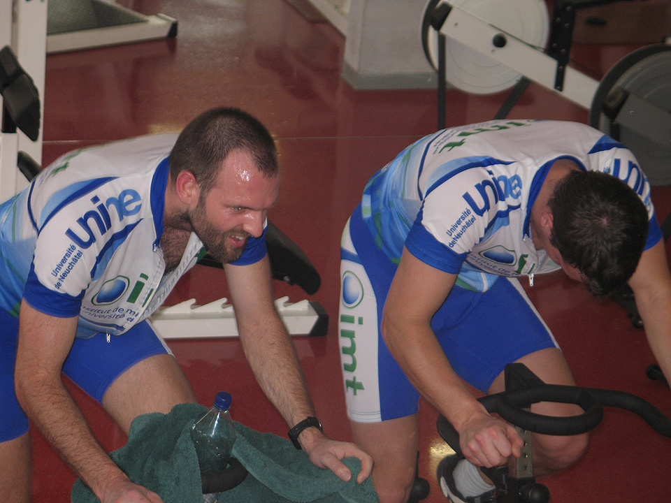Marathon de spinning