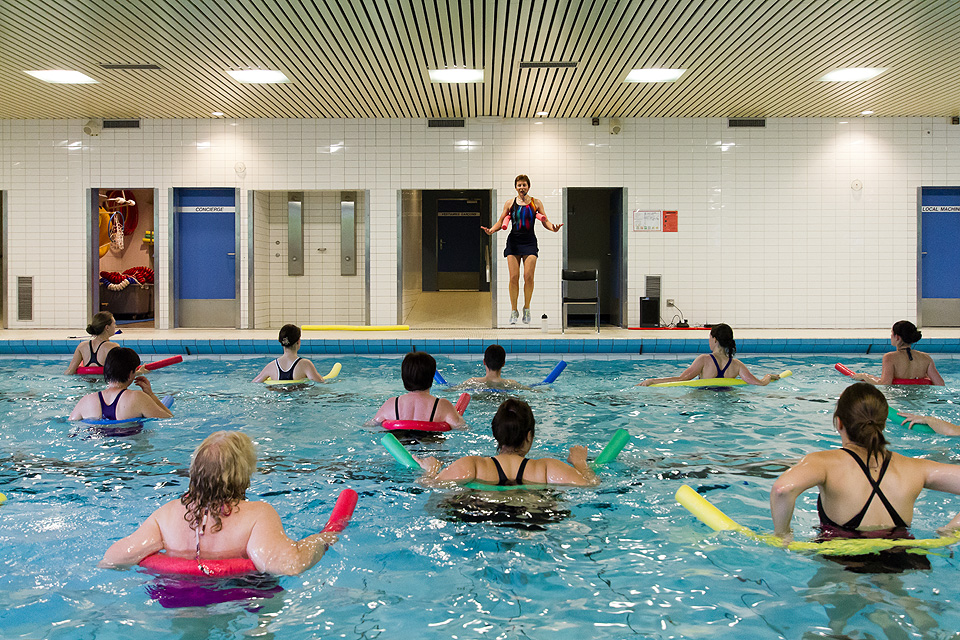 Fitness aquatique hiver sun sports universitaires for Piscine universitaire
